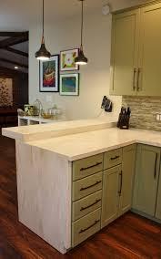 kitchen amazing stylish l shape marble countertop shaker kitchen