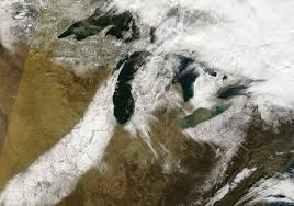 United States Snow Map by Lake Effect Snow In The United States Natural Hazards