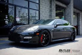 Porsche Panamera Black Rims - porsche panamera with 22in savini bm14 wheels exclusively from