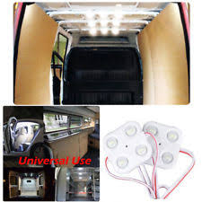 enclosed trailer interior light kit white 12v bright 40 leds car interior lights kit ceiling l lwb