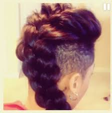 braids with bald hair at the bavk 242 best undercuts images on pinterest hair dos braids and