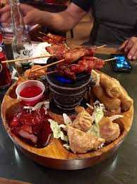 pu pu platters i ordered the pu pu platter it was great i ll definitely be