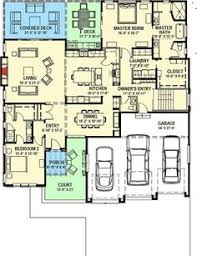 plan 23442jd spacious split level home plan pantry and photo