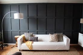 decoration ideas astounding black wooden wall paneling in parquet