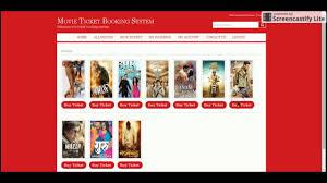 membuat website film online java and jsp project on online movie ticket booking system youtube