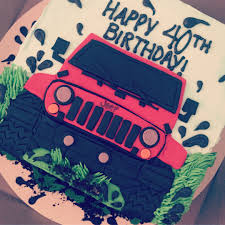 jeep cake images tagged with christiessweetcreations on instagram