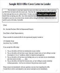 7 real estate offer letter free sample example format download