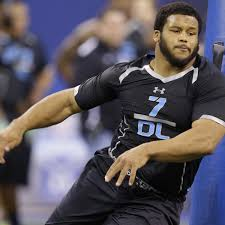 aaron donald u0027s combine performance cements 1st round nfl draft