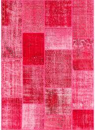 moquette rose fushia tapis pour trés grand salon vintage patchwork fuchsia de la