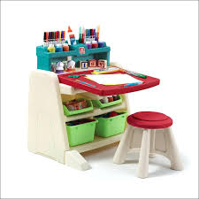 Craft Table Desk Craft Table With Paper Roll Fold Down Art Desk With Storage Craft
