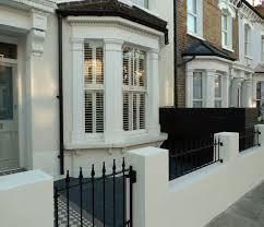 Garden Wall Railings by New Front Garden Dulwich London London Garden Blog