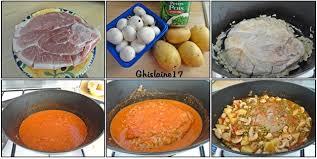 cuisiner une rouelle de porc en cocotte minute rouelle de porc en cocotte avec petits légumes et coulis de tomate