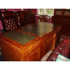 bureau president president desk in burr walnut