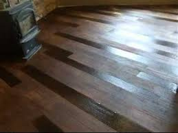 concrete wood basement flooring