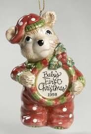 fitz floyd baby s ornament at replacements ltd