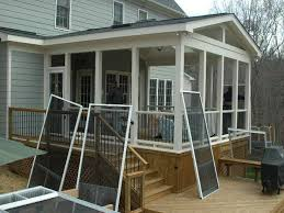 stunning closed in patio designs screen room screened in porch