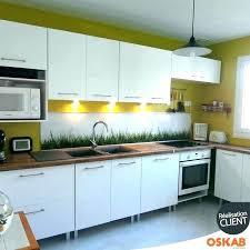 peindre meuble cuisine laqué meuble de cuisine blanc laque alaqssa info