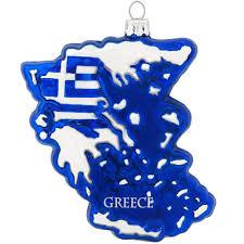greece glass ornament world
