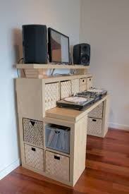 Ikea Hack Office Desk Mesmerizing Ikea Desk Hacks Pinterest Kallax Idea For Dressing