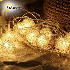 String Lights Balls by Compare Prices On Decorative Wire Balls Online Shopping Buy Low