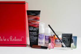 a look inside the july august redhead subscription box