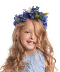 flower bands flower band hair accessory in sky