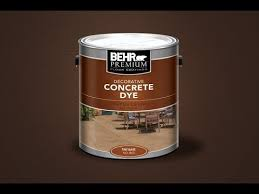 concrete dye 2014 youtube