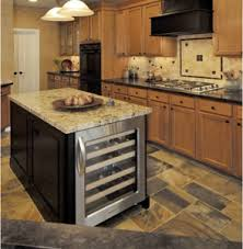 kitchen island different color than cabinets kitchen island with wine cooler rta cabinet store