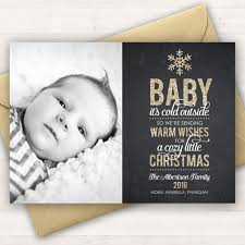 photo card baby it s cold outside baby s
