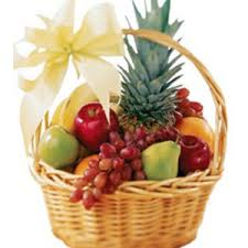 fruit in a basket seasonal 3 kgs mix fruit basket online cake delivery in india