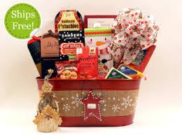 christmas gift baskets free shipping festive christmas gift baskets and gifts