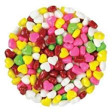 heart shaped candy rainbow candy hearts heart shaped candy candy display