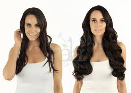 clip in hair extensions before and after brown clip in human hair extensions