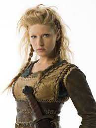 how to do hair like lagatha lothbrok more cheery in battle than chatting to suitors or taking the
