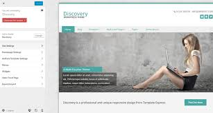 discovery free wordpress business theme by template express