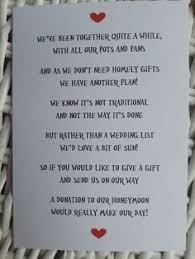 wedding gift honeymoon personalised wedding honeymoon money request poem card gift tag