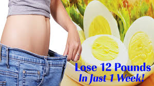 boiled egg diet for weight loss lose 12 pounds in 1 week lose