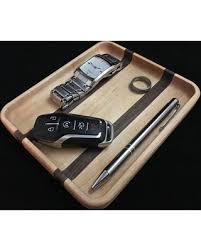 slash prices on nightstand organizer wood valet tray wooden