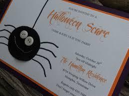 diy halloween invitations