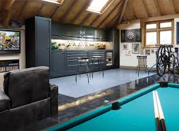 How To Turn Your Garage Into A Family Room Interior Design Ideas - Garage interior design ideas