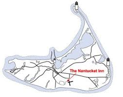Nantucket Map Getting Here U0026 Around Nantucket Inn Nantucket Ma Us
