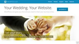 free wedding website wedding website support