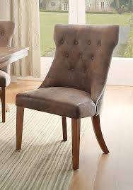 Microfiber Dining Room Chairs by Amazon Com Homelegance 2526s Button Tufted Microfiber Accent