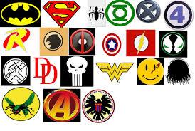 superhero logos list and names image galleries imagekb com