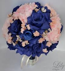 royal blue corsage and boutonniere 17 package wedding bridal of honor bridesmaid
