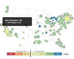 map usa buy news room trulia rent vs buy report