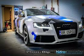 custom painted audi by ramon dumitrache color shift pearls