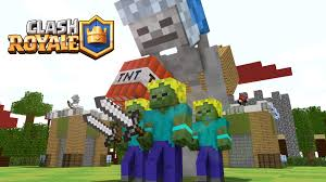 if minecraft would be like clash royale minecraft animation