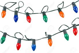 christmas lights isolated on stock photo picture and
