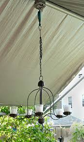 Garden Candle Chandelier Patio Chandelier On A Pulley Plus More Lighting Tips Buffalo